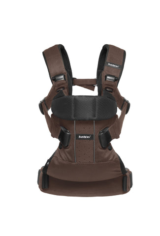Baby Bjorn 揹帶優惠 Baby Carrier One Air Mesh Black & Brown