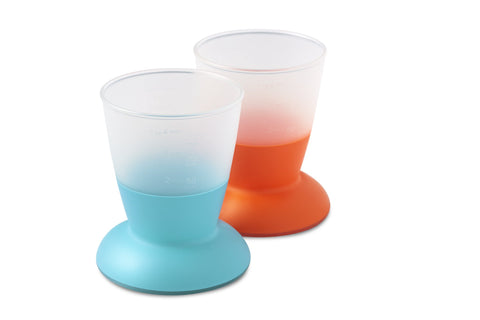 Baby Bjorn 揹帶優惠 Cup 2-pack Turquoise & Orange