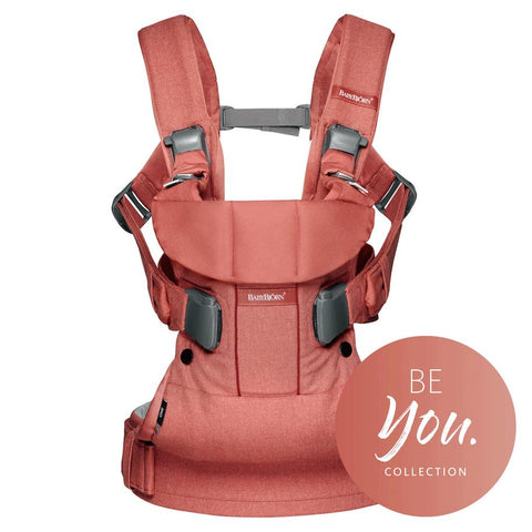 Baby Bjorn 揹帶優惠 Baby Carrier One Cotton Terracotta Pink
