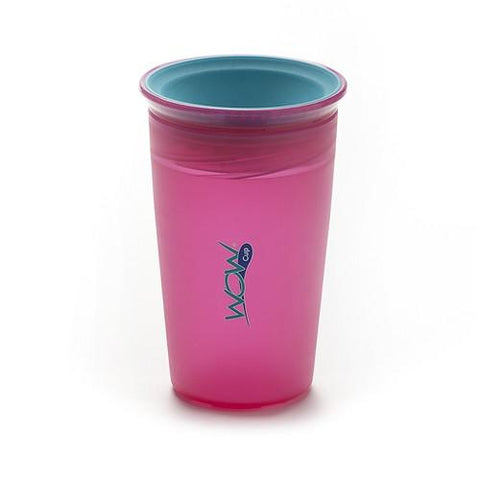 WOW JUICY! WOW Cupå¨ for Kids Translucent Spill Free Tumblers
