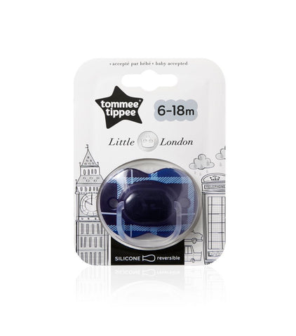 Tommee Tippee HK Sale Little London Soother 6-18m Single Pack