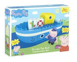 Peppa Pig HK Sale Grandpa Pig's Boat Construction Set
