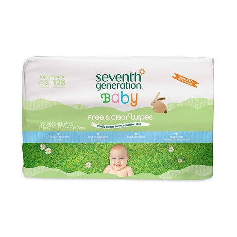 Seventh Generation Baby Wipes Refill Value Pack