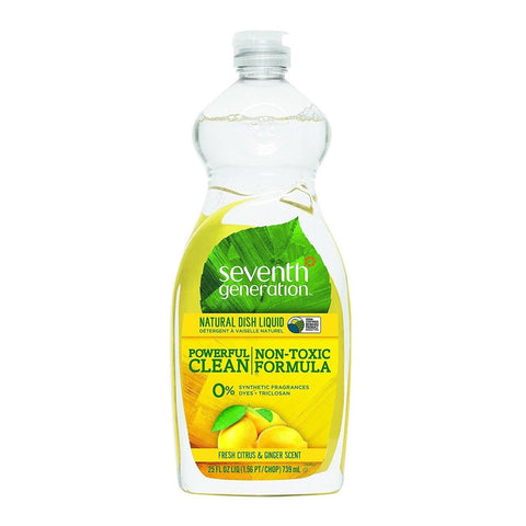 Seventh Generation Dish Liquid Citrus & Ginger