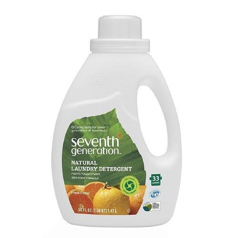 Seventh Generation Laundry Liquid - Fresh Citrus Breeze