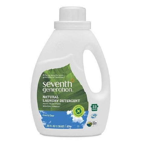 Seventh Generation Laundry Liquid - Free & Clear