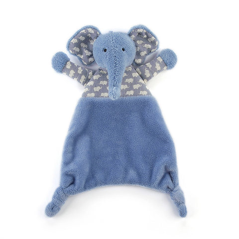 Jellycat HK Sale Indigo Elly Soother