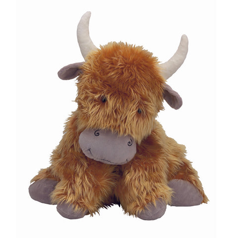 Jellycat Cow HK Sale - Truffles Highland Cow Large 42cm