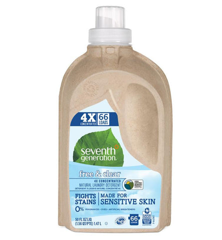 Seventh Generation 4X Laundry Liquid - Free & Clear
