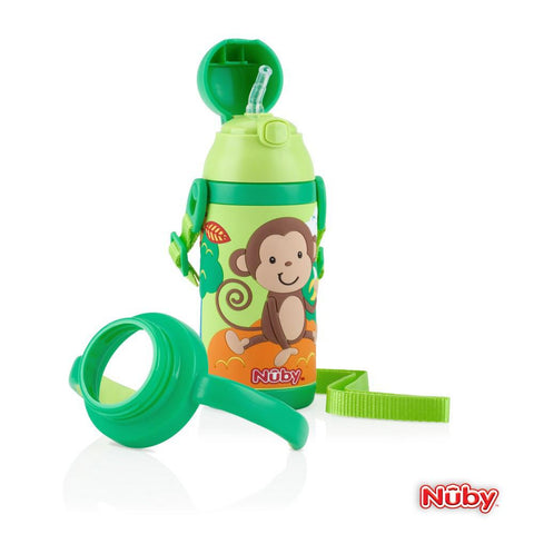 Nuby HK Stainless Steel 3D Insulated Cup