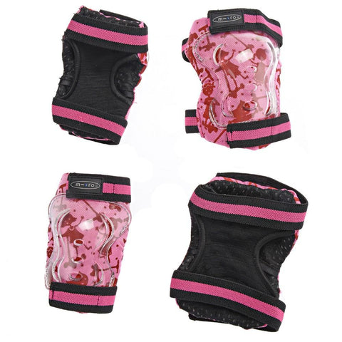 Micro Scooter HK Sale Pink Elbow & Knee Pads Size M
