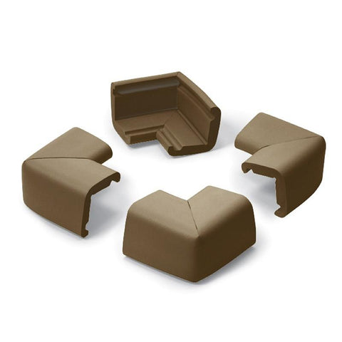 Prince Lionheart Cushiony Jumbo Corner Guards Chocolate