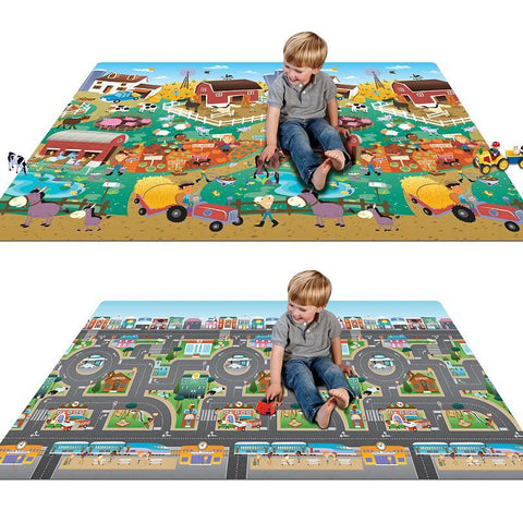 Prince Lionheart Play Mat Farm/City