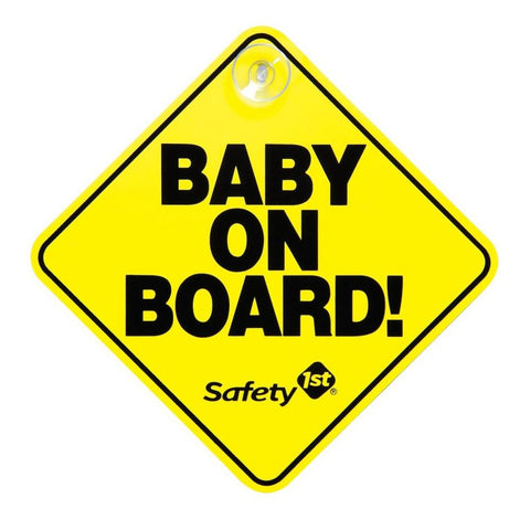 Safety 1st HK Sale Baby on Board Sign
