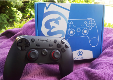 GameSir G3s PS4-Like Game Controller With 100's Of Free Emulator Games & Compatible With Apple TV 4th Gen!
