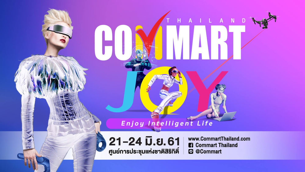 GameSir @ COMMART JOY 2018