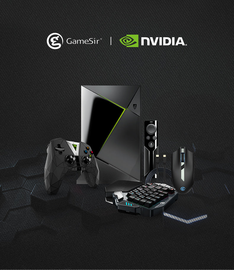 GameSir x NVIDIA in China: Deluxe Package for PUBG-like Games