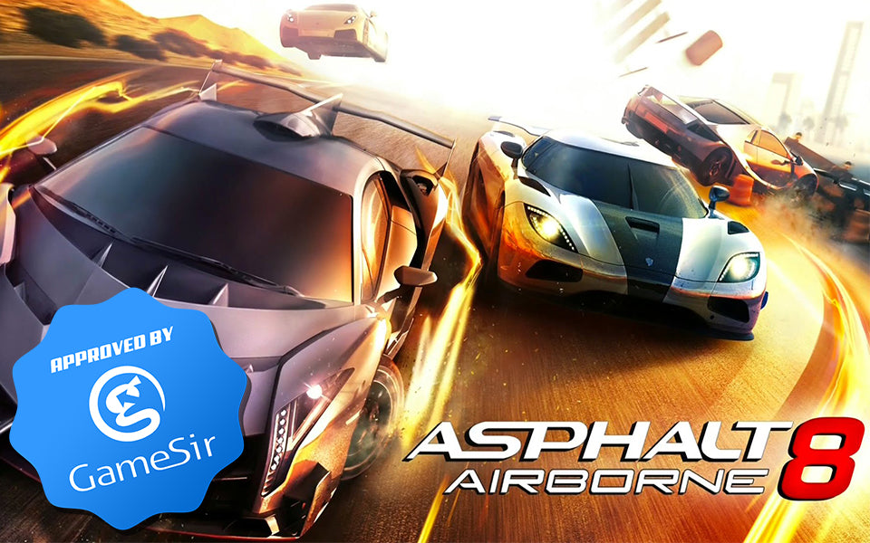 GameSir M2 Review on Asphalt 8: Airborne: Hassle-free, Connect and Play with iPhone