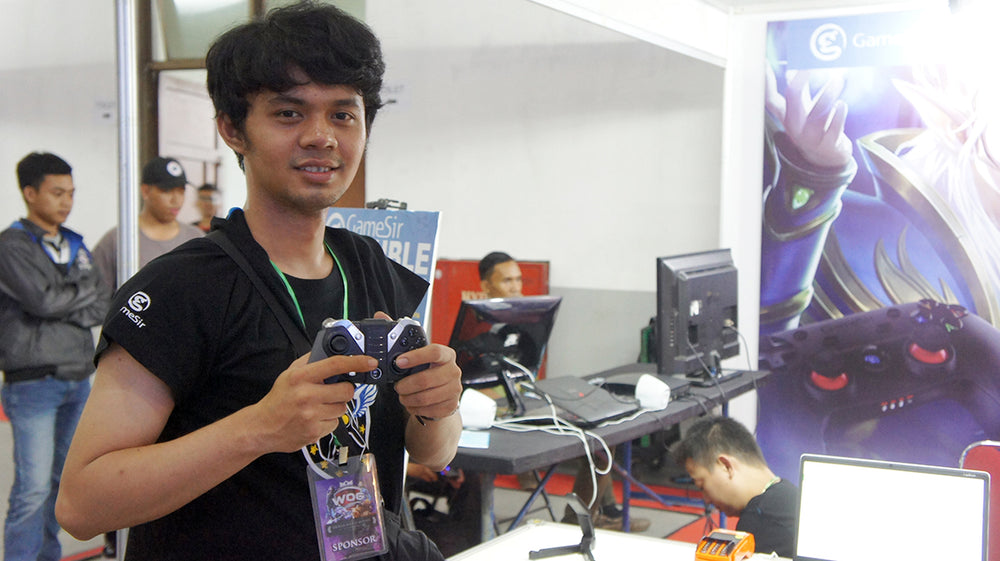 GameSir Joins World of Gaming Indonesia 2017, Bringing Better Mobile Legends Gaming Experience