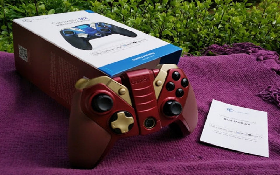 Review on Gamesir M2 MFi Bluetooth Controller Iron Man Color Theme