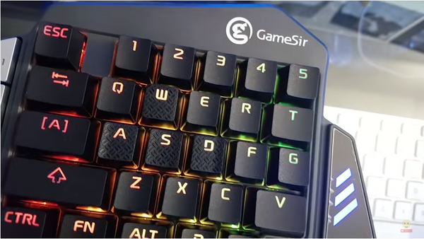 Gamesir Z1 Review (Mobile Bluetooth Keypad)