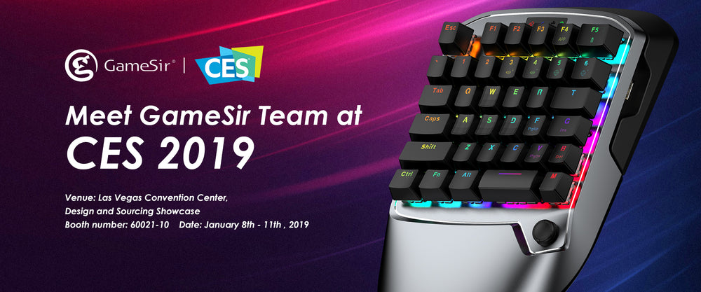 CES 2019 | Come and Meet GameSir