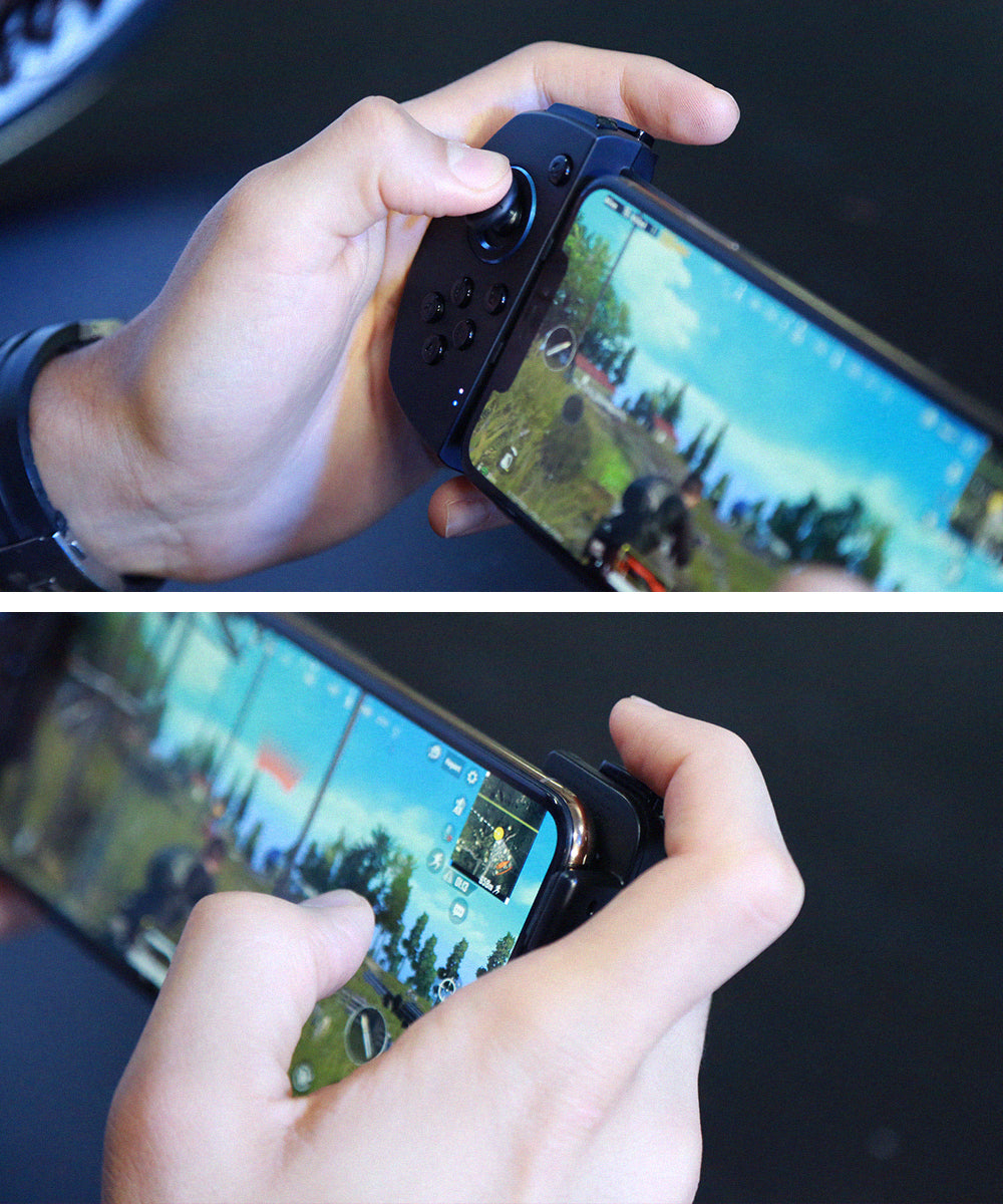 Bluetooth mobile gamepad