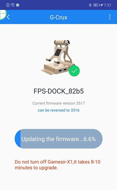 X1 FPS-DOCK Firmware Downgrade Tutorial for Android / iOS – GameSir