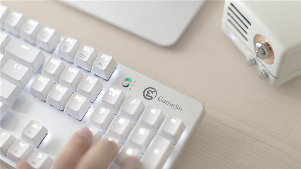 tactile wireless keyboard