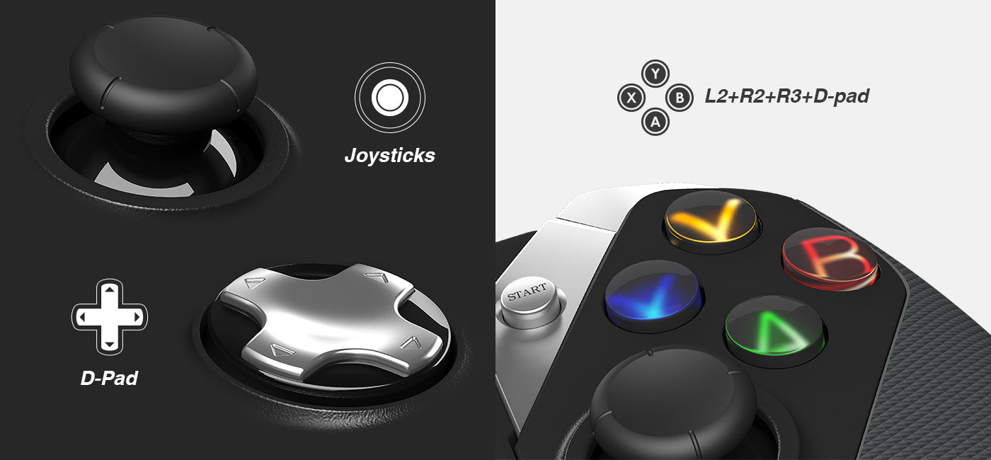 Fornite Controller with Joystick