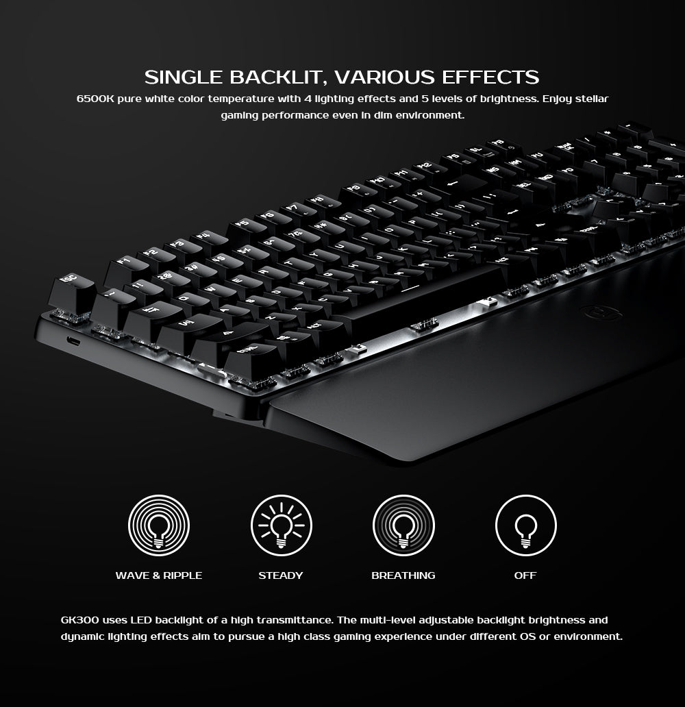 Wireless Gaming Keyboard for Windows PC