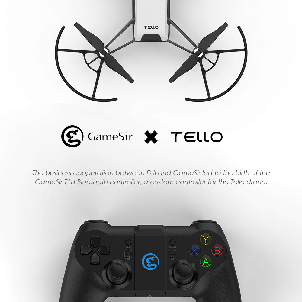 GameSir T1d Bluetooth Controller for Tello Drone