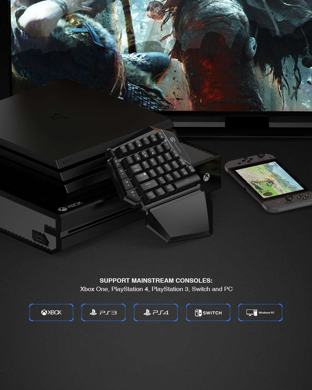 Keyboard and Mouse for Xbox One