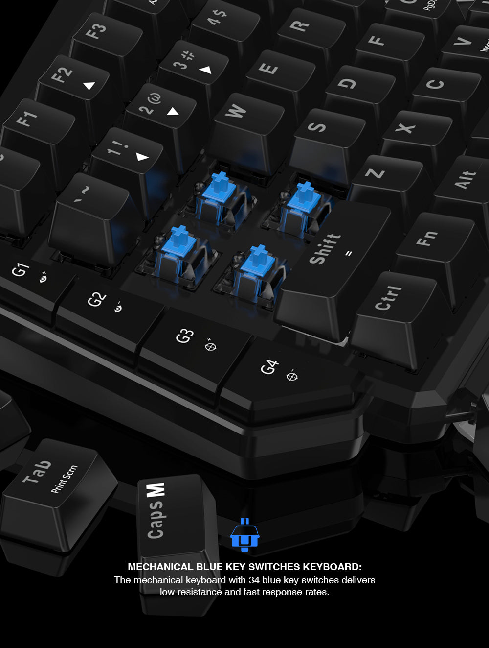 PS4 Keyboard and Mouse GameSir VX