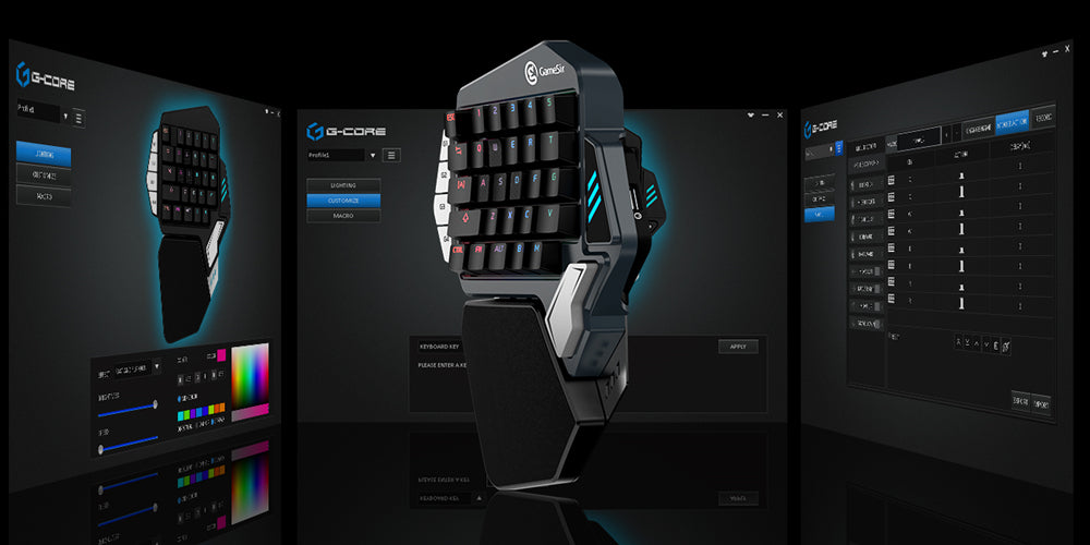 GameSir Z1 Bluetooth Mechanical Gaming Keypad