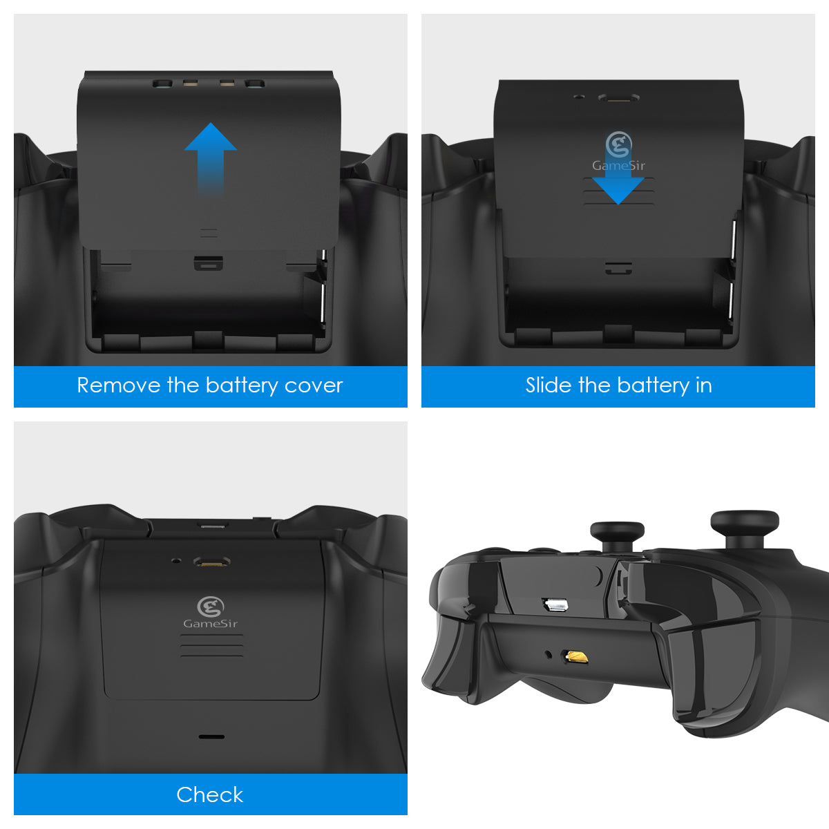 Xbox One Battery Twin Pack Accessories- GameSir Official Store