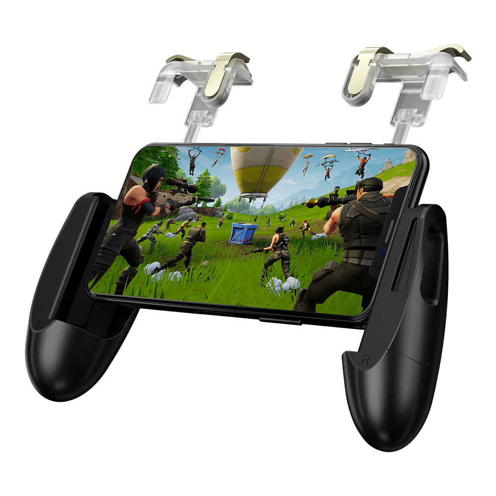 GameSir F2 Mobile Game Controller Sensitive Shoot and Aim Fire Buttons L1R1 Trigger Mobile Grip Joystick Set for Fortnite//PUBG//Knives Out//Rules of Survival