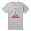 Unisex T-shirt 'Yes Sir, I Have Seen the Speed Limit!' Different Variants