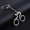 Cool 'Man on Bicycle' Key Chain
