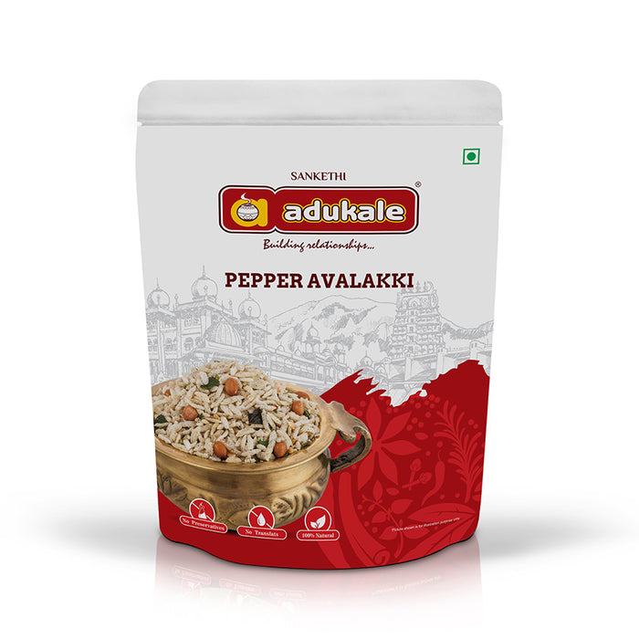 Pepper Avalakki  | Everyone's Favorite Snack | Adukale