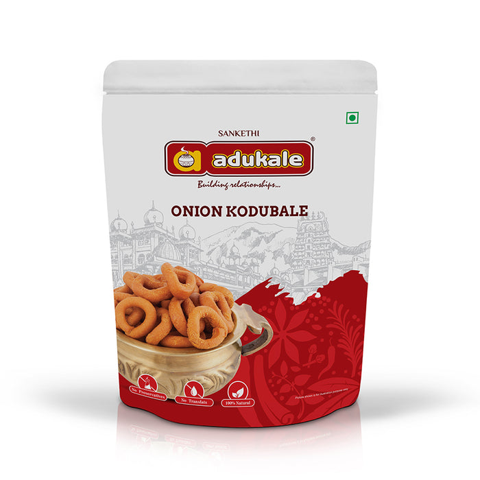 Onion Kodubale | Everyone's Favorite Snack | Adukale