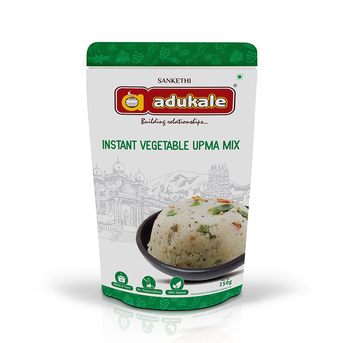 Vegetable Upma Mix | The Original Breakfast | Adukale