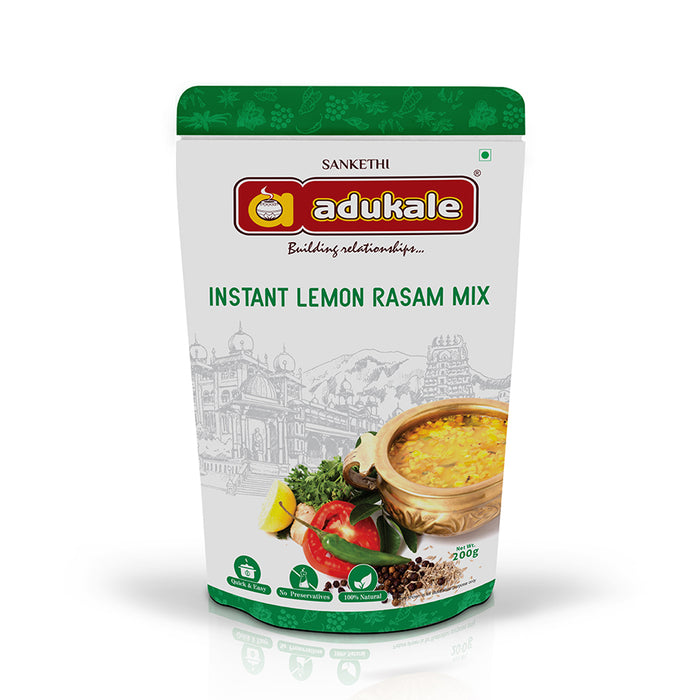 Instant Lemon Rasam | Readymade Rasam within Minutes | Adukale