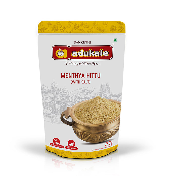 Menthya Hittu | A Unique Spice Mix | Adukale
