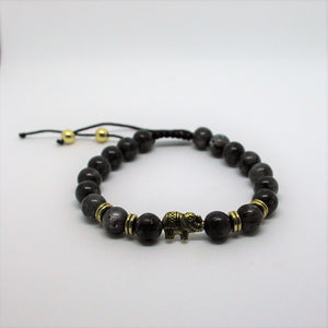Black Labradorite/Gold