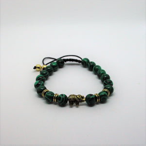 Malachite/Gold Rings