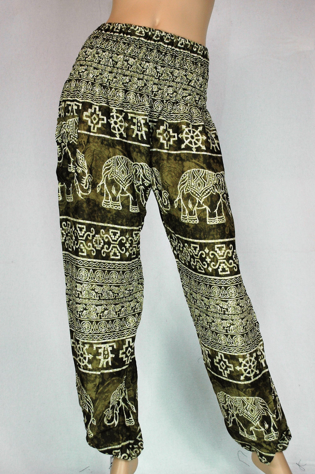Elephant Aztec Green