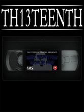 TH13TEENTH - Maniac Mutants From Beyond The Grave VHS Tape