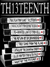 TH13TEENTH - VHS Stack Imaginary Horror Movies