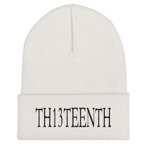 TH13TEENTH - Beanie